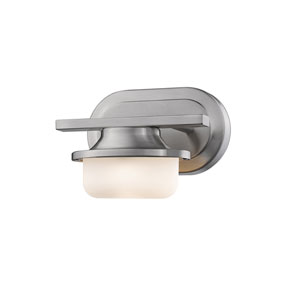 Optum Brushed Nickel One-Light LED Wall Sconce