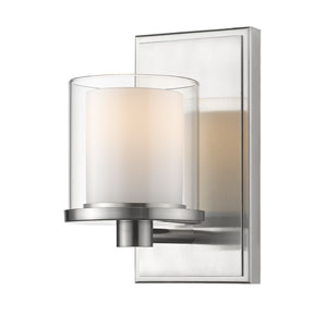 Schema Brushed Nickel LED Vanity