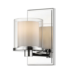 Schema Chrome One-Light LED Vanity