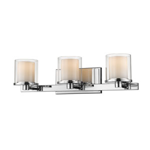 Schema Chrome Three-Light LED Vanity