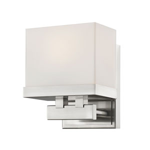 Rivulet Brushed Nickel LED Bath Vanity