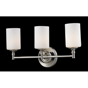 Cannondale Three-Light Bathroom Fixture