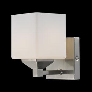 Quube One-Light Bathroom Fixture