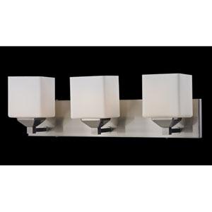 Quube Three-Light Bathroom Fixture