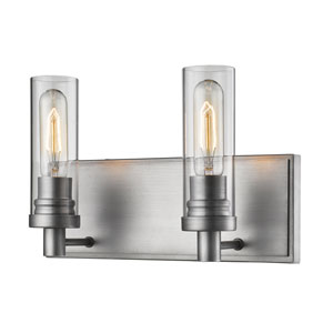 Persis Old Silver Two-Light Vanity
