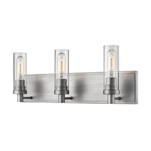 Persis Old Silver Three-Light Vanity