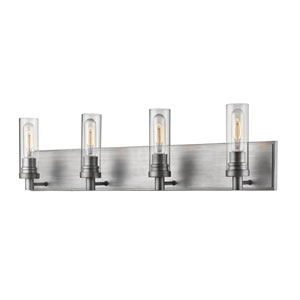 Persis Old Silver Four-Light Vanity