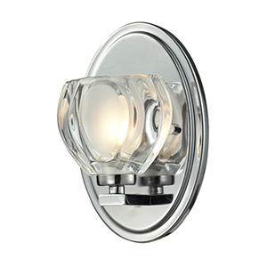 Hale Chrome One-Light Vanity Fixture