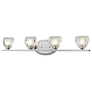 Hale Chrome Four-Light Vanity Light