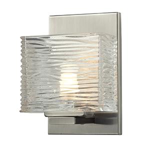 Jaol Brushed Nickel One-Light Vanity Fixture
