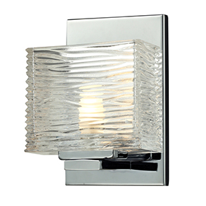 Jaol Chrome One-Light Vanity Fixture