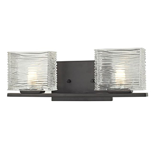 Jaol Bronze Two-Light Vanity Light