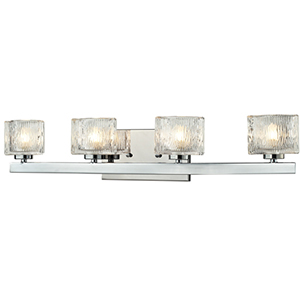 Rai Chrome Four-Light Vanity Light