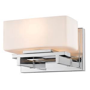 Kaleb Chrome One-Light Vanity Fixture