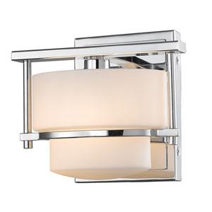 Porter Chrome One-Light Vanity Fixture