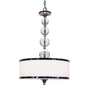 Cosmopolitan Chrome Three-Light Pendant
