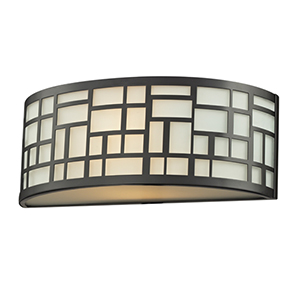 Elea Bronze One-Light Wall Sconce