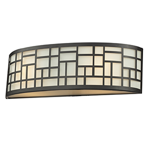 Elea Bronze Two-Light Vanity Light