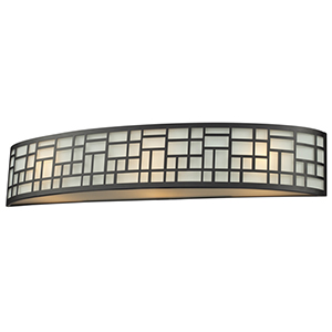 Elea Bronze Three-Light Vanity Light
