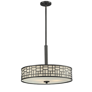 Elea Bronze Three-Light Pendant