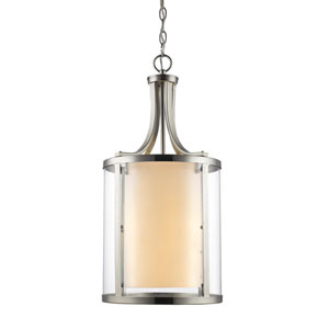 Willow Brushed Nickel Four-Light Pendant