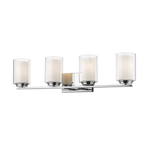 Willow Chrome Four-Light Vanity