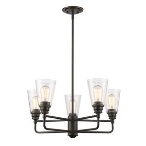 Annora Olde Bronze Five-Light Chandelier