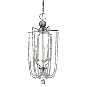 Serenade Chrome Fourteen-Inch Chandelier