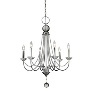 Serenade Chrome Twenty-Five-Inch Chandelier