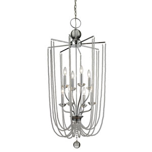 Serenade Chrome Twenty-One-Inch Chandelier