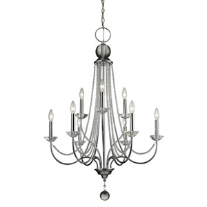 Serenade Chrome Twenty-Eight-Inch Chandelier