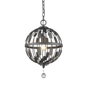 Almet Bronze One-Light Globe Pendant