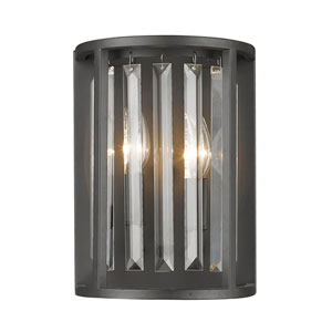 Monarch Bronze Two-Light Wall Sconce