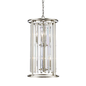 Monarch Brushed Nickel Six-Light Pendant