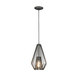Quintus Bronze 9-Inch One-Light Pendant