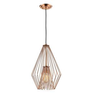 Quintus Copper 12-Inch One-Light Pendant