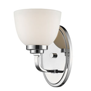 Ashton Chrome One-Light Wall Sconce