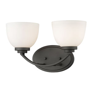 Ashton Bronze Two-Light Vanity