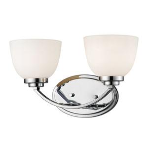 Ashton Chrome Two-Light Vanity