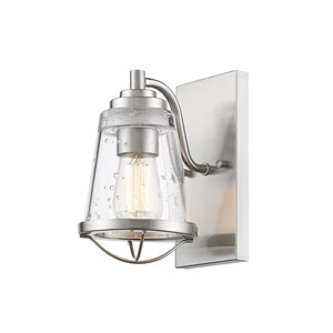 Mariner Brushed Nickel One-Light Wall Sconce