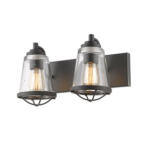 Mariner Bronze Two-Light Vanity