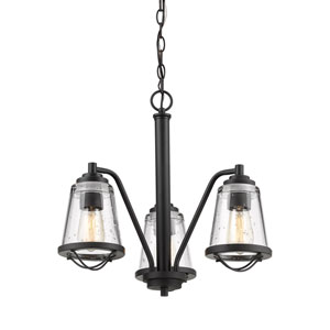 Mariner Bronze Three-Light Chandelier