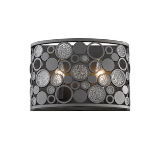 Ariell Bronze Two-Light Wall Sconce