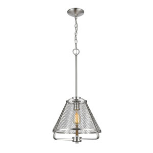 Iuka Brushed Nickel One-Light  Pendant