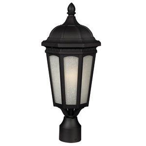 Newport Black One-Light 24-Inch Outdoor Wall Mount