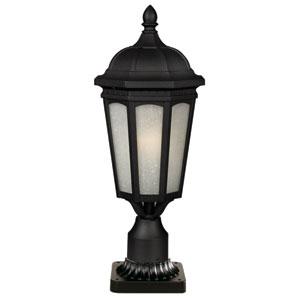 Newport Black 22-Inch Outdoor Post Light