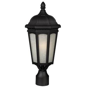 Newport Black 20-Inch Outdoor Post Light