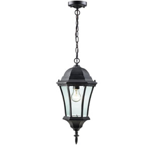 Wakefield Black One-Light Outdoor Pendant