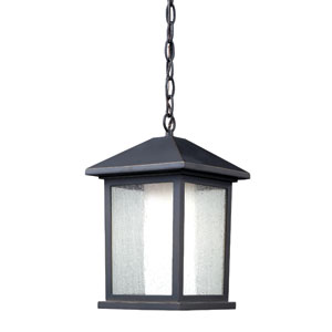 Mesa Oil Rubbed Bronze One-Light Outdoor Pendant