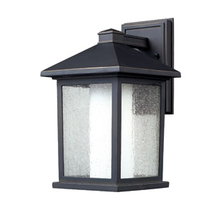 Mesa Oil Rubbed Bronze One-Light 14-Inch Outdoor Wall Mount